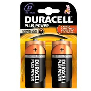 Picture of Blister 2 pile duracell plus (mn1300) d - torcia