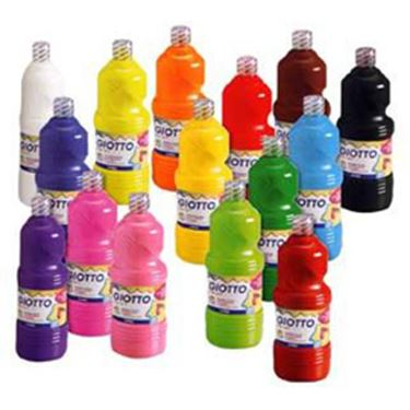 Immagine di Tempera pronta - 1000ml - giallo - Giotto