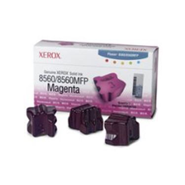 Picture of 3 stick solid ink magenta phaser 8560