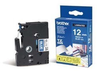 Immagine di Brother - Nastro -  Bianco/Blu - TZE535 - 12mm x 8mt