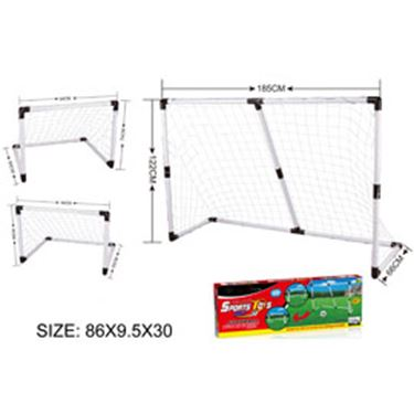 Immagine di Football set - porte da calcio 2 in 1