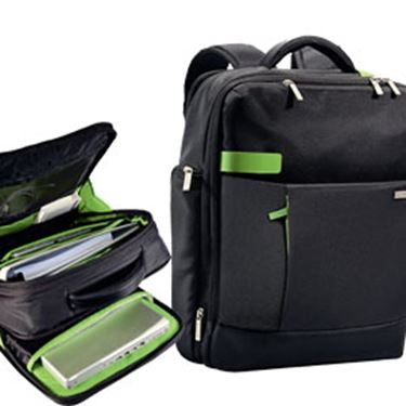 "Immagine di Zaino Smart Traveller per PC - 15.6"" - nero - Leitz Complete"