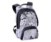 Picture of ZAINETTO WHITE FANTAISY BIANCO/NERO BODYPACK