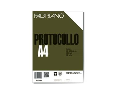 Picture of Protocollo A4 4mm 200fg 60gr fabriano
