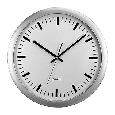 Picture of Orologio da parete big ø 46cm fondo bianco methodo
