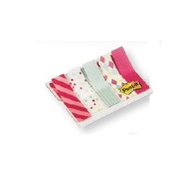 Immagine di Segnapagina Post it® Index Mini - motivi Candy - 12 x 43,2 mm - Post it® - conf. 100 pezzi