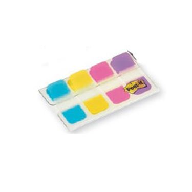 Immagine di Dispenser 40 segnapagina post-it index strong mini 676 vivaci 15,8x38mm