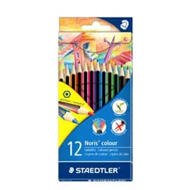 Immagine di Pastelli colorati Noris Colour - Staedtler - Astuccio 12 pastelli colorati