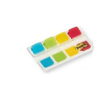 Immagine di Dispenser 40 segnapagina post-it index strong mini 676 classici 15,8x38mm