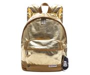 Picture of BACKPACK SMALL FANTASIA LAME' ORO DIM. 25X36X12 CM SUPERGA