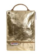 Picture of CLUTCH FANTASIA LAME' ORO DIM. 26.5X18.5 CM SUPERGA