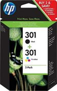 Picture of Hp 301 ink cartridge combo 2-pack (nero+colore)