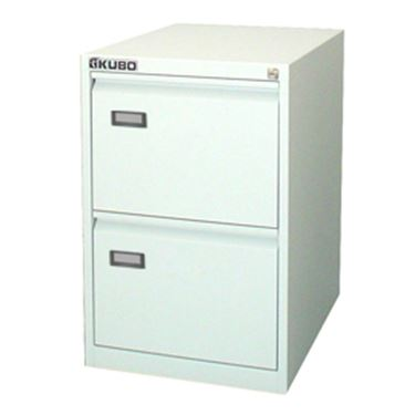 Picture of Classificatore kubo 2 cassetti per cart. sospese bianco h 70cm