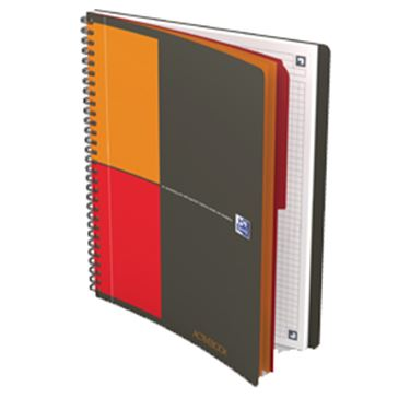Immagine di Blocco spiralato International Favorit - formato Notebook - 18 x 25cm - 80gr - 80 fogli - Oxford