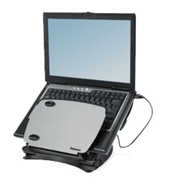 Immagine di Supporto notebook Professional Series - hub USB e leggio - Fellowes