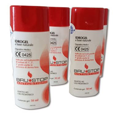 Immagine di Idrogel per ustioni - PVS - flacone da 50 ml