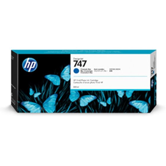 Immagine di Hp - Cartuccia ink - 747 - Blu cromatico - P2V85A - 300ml